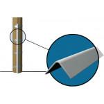 Gaine protection PVC descente de câble