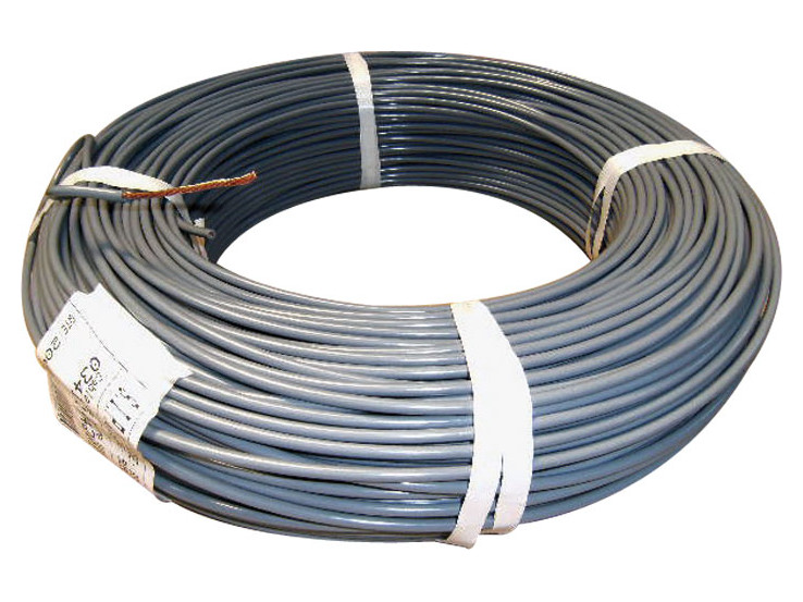 Insulated earthing copper wire