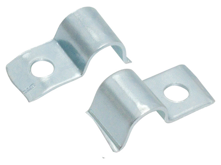 Steel round cable clip