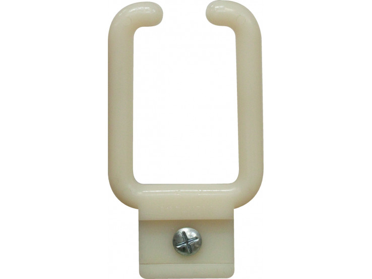 U-shaped cable management ring to screw