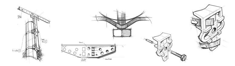 Illustration de Equipement du poteau