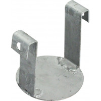 Steel pole cap