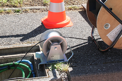 watertight fibre optic cables for underground FTTH roll-outs