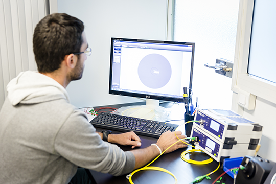 Telenco networks tests its FTTH solutions in its own optical lab so to ensure the utmost quality
